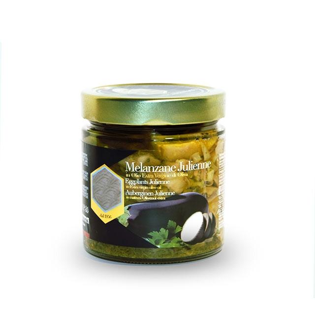 Aubergines marinées à l'huile