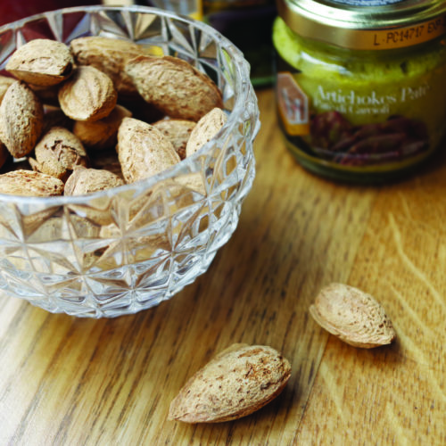Biscuits et fruits secs